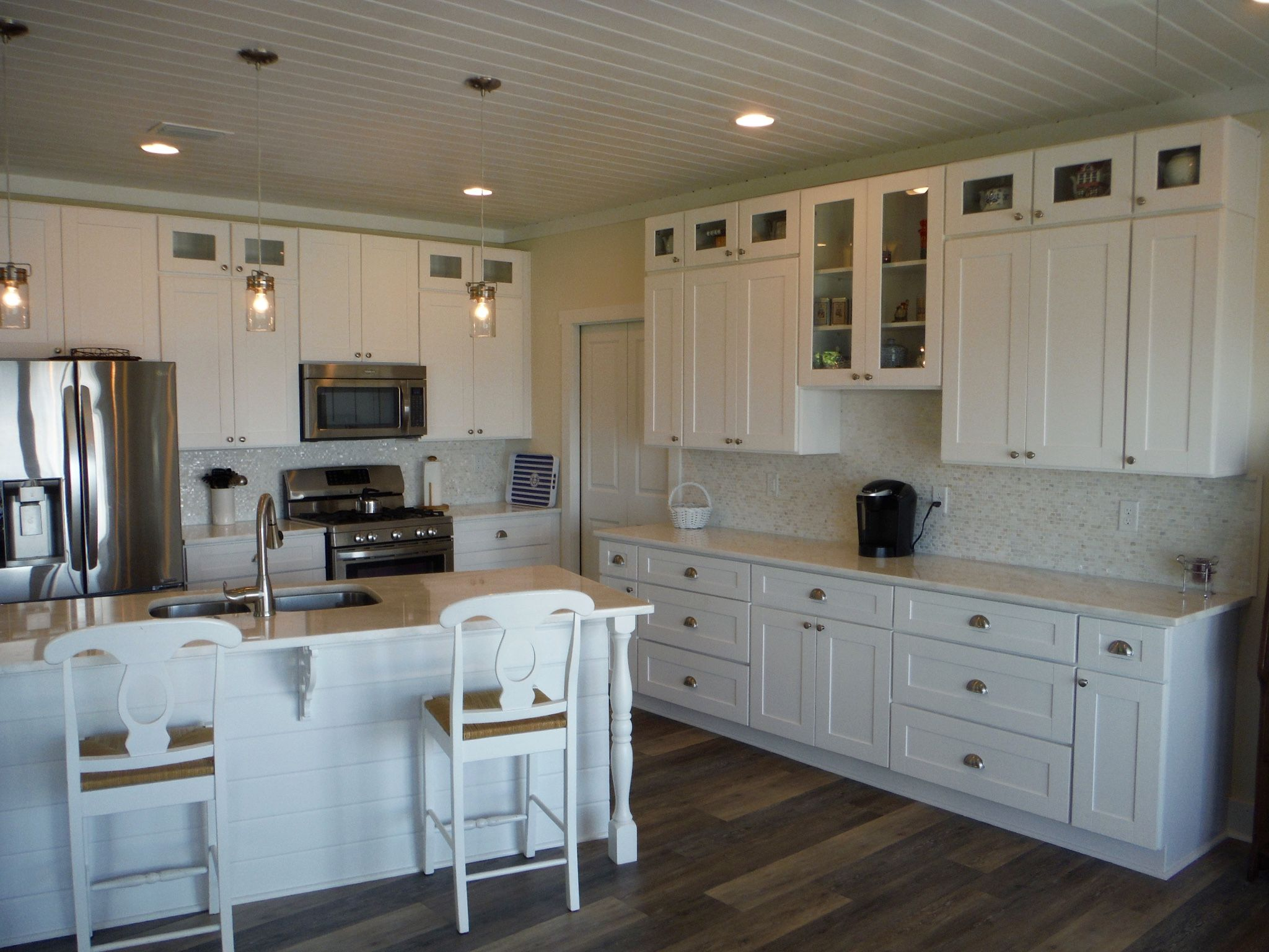 Free Kitchen Design Services Ideas And White Kitchen Remodeling Rta Project Done By Lily Ann White Kitchen Cabinets White Kitchen Kitchen Cabinets For Sale