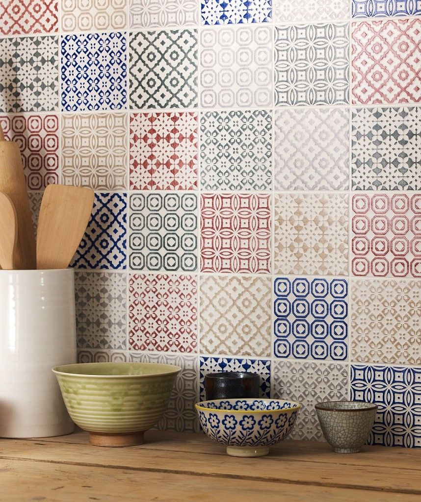 Paper Wall Tiles top tips: how to decorate with tiles | patchwork tiles, decorating