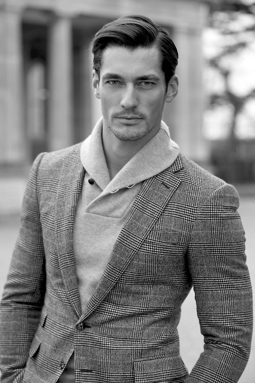 GQ Japan Magazine 2009 issue - David James Gandy