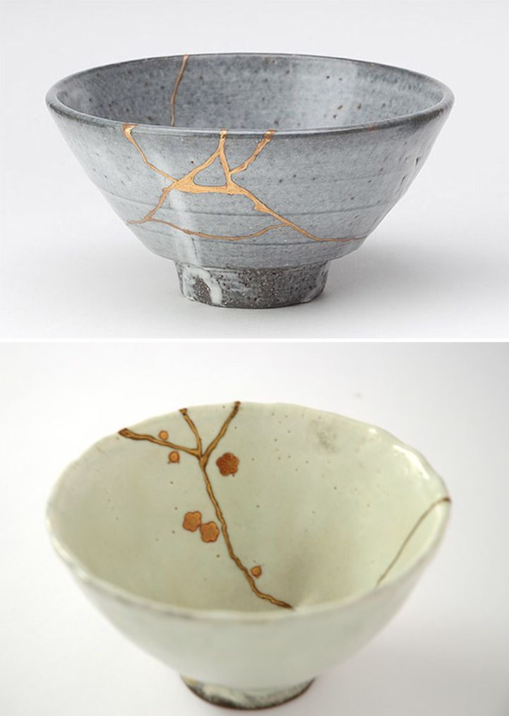 Kintsugi Is The Centuries Old Japanese Art Of Fixing Broken Pottery With A Special Lacquer Dusted With Powdered Gold Silver Or Kintsugi Kintsugi Art Pottery