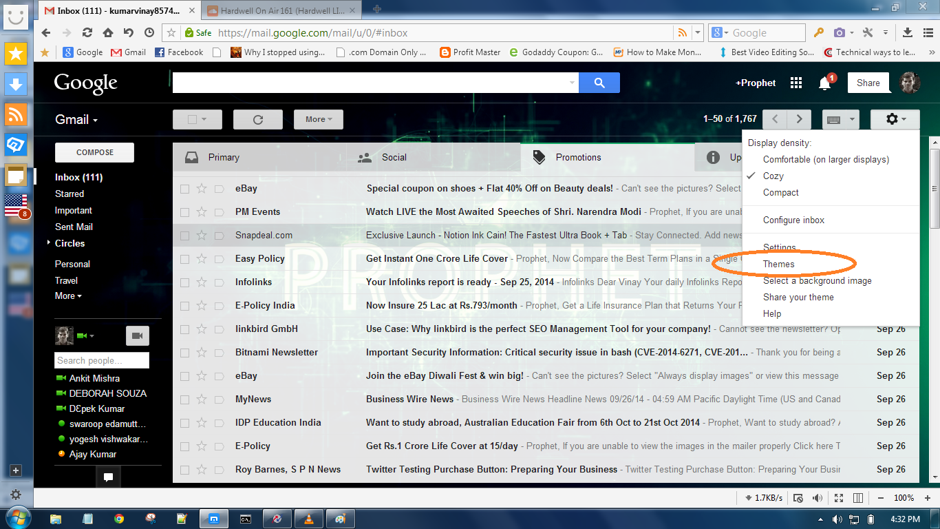 Change Gmail Account Background Picture | Internet | Pinterest ...