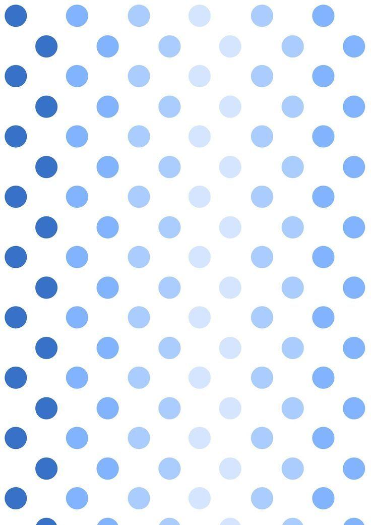 Free Printable Ombre Polka Dot Pattern Paper Polkadot