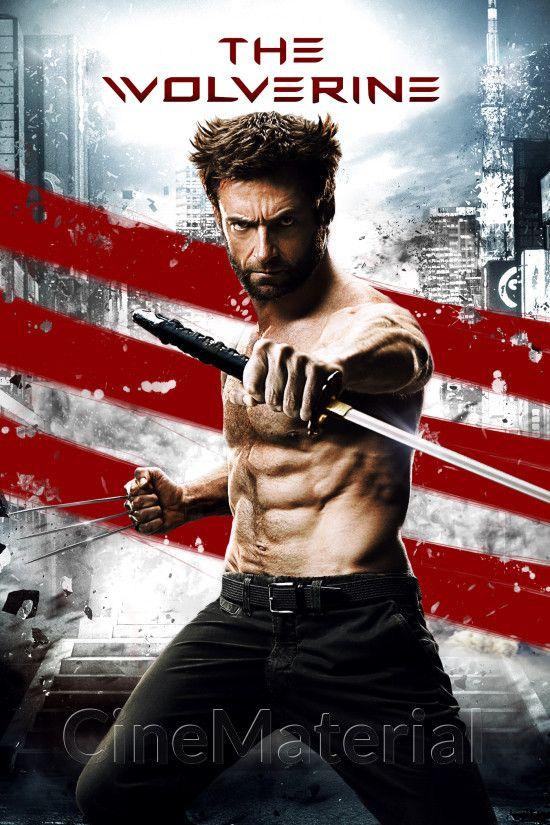 The Wolverine Wolverine Poster Wolverine Movie Hugh Jackman