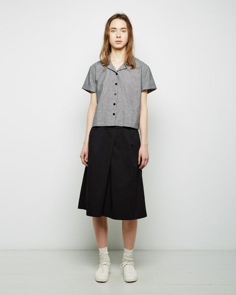 MHL by Margaret Howell   Overall+Skirt   La Garçonne