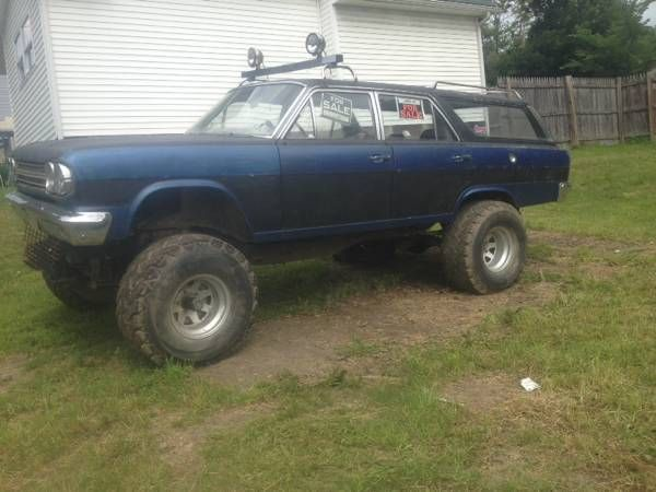 Craigslist Find: A 1966 Rambler Wagon Trar That Means Muddin' Fun
