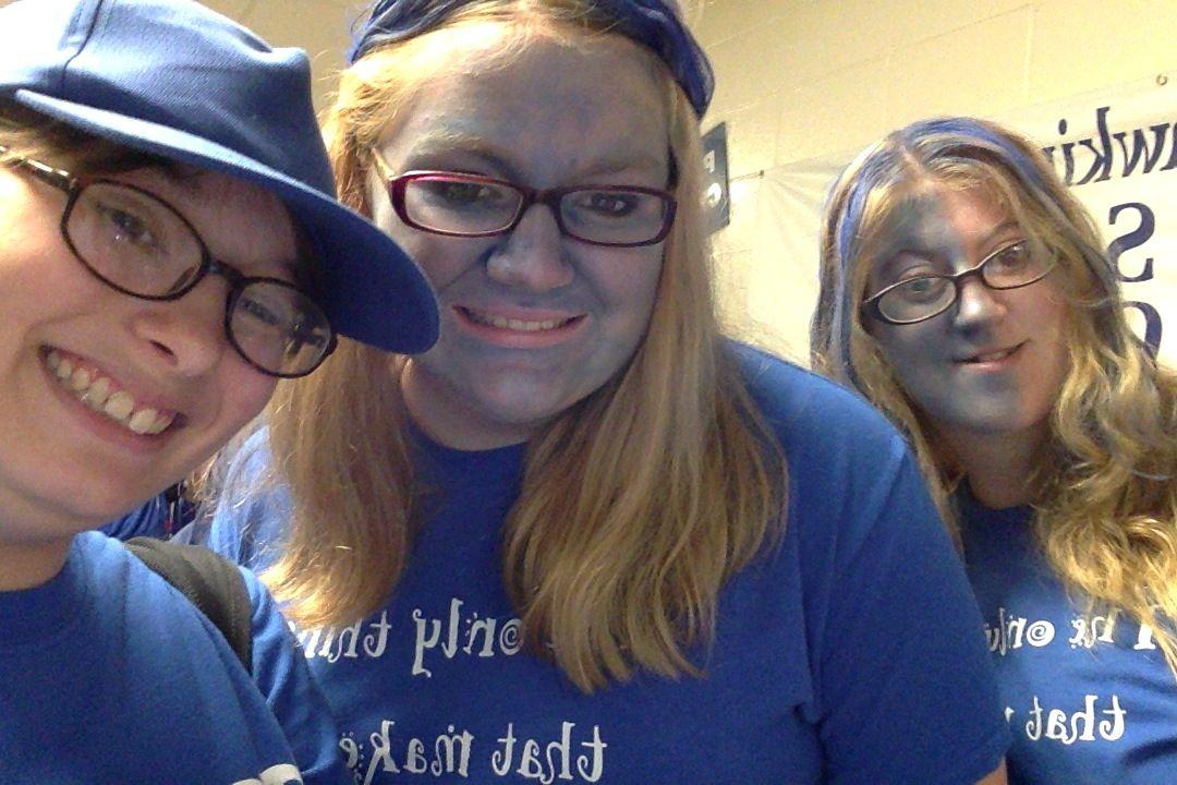 Me and my BFFs Miranda, Allison Henneous.