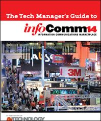 AV Technology Manager's Guide to InfoComm 2014