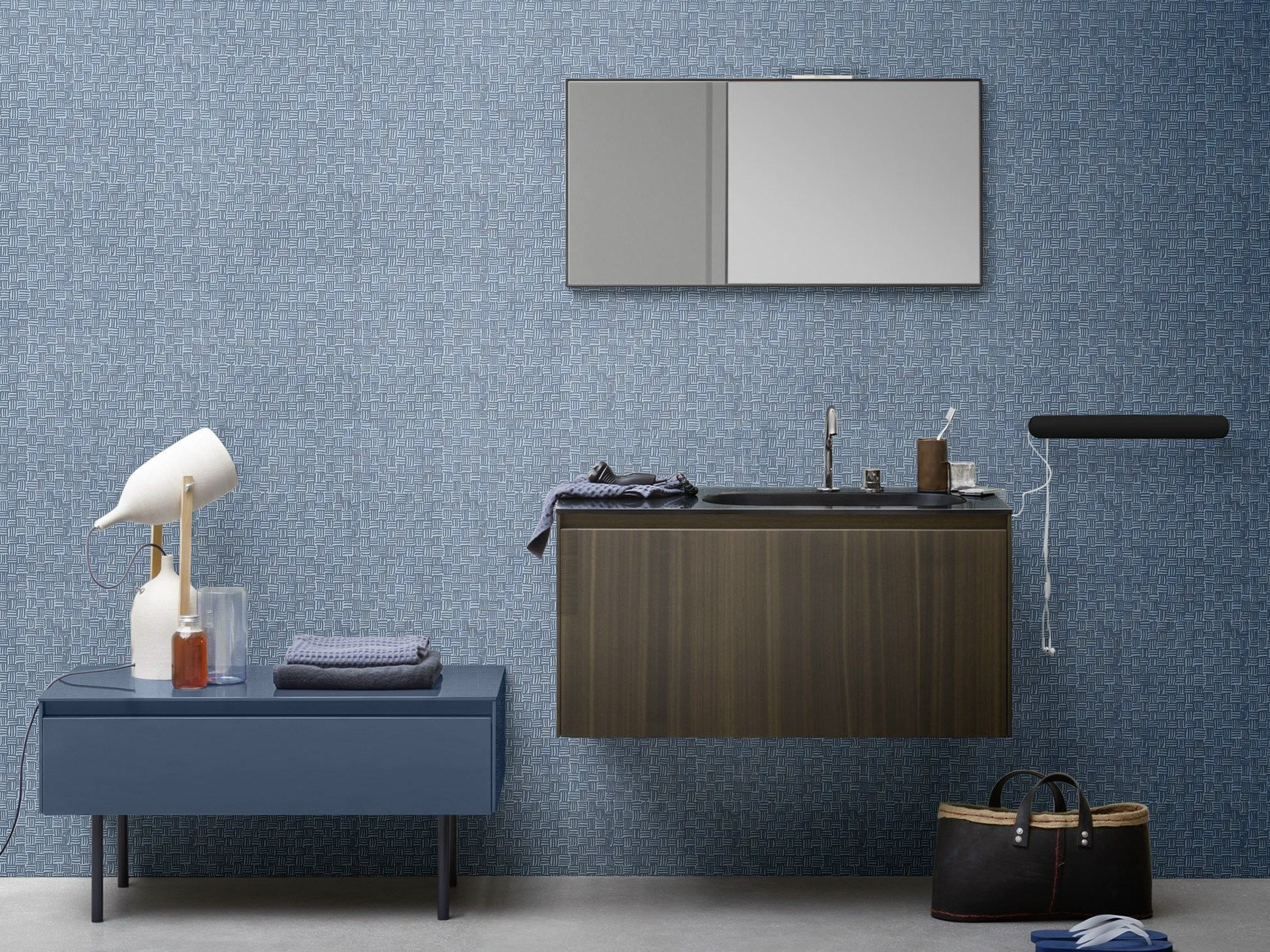 Rexa Design Elegant Console Semiinset Korakril Washbasin Giano  # Muebles Di Giano