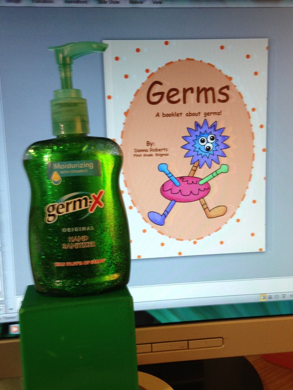 Add Glitter To Germ X And See How Fast It Spreads To Other Things