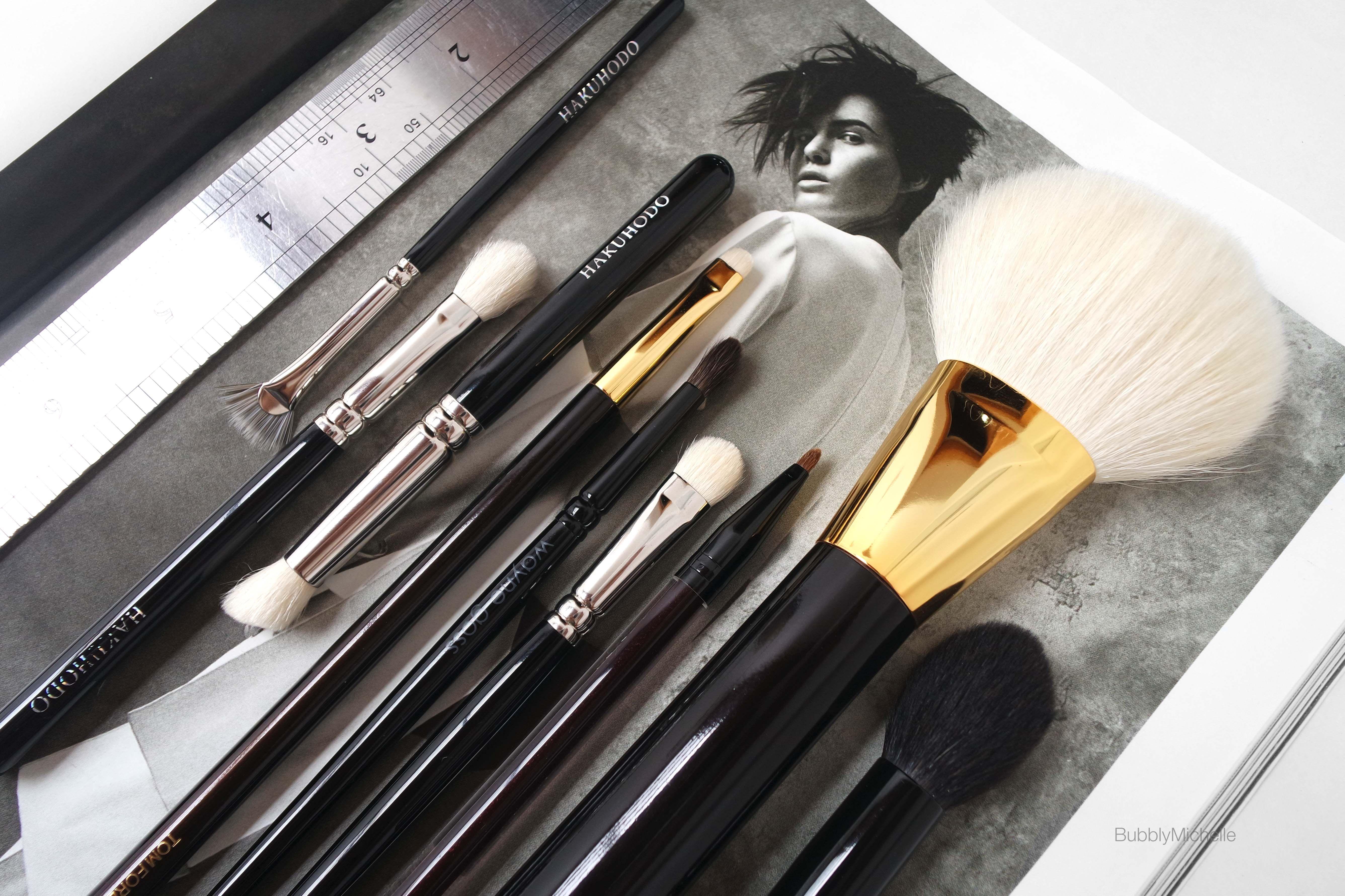 Top 10* Makeup Brushes (Tom Ford, Hakuhodo, Wayne Goss