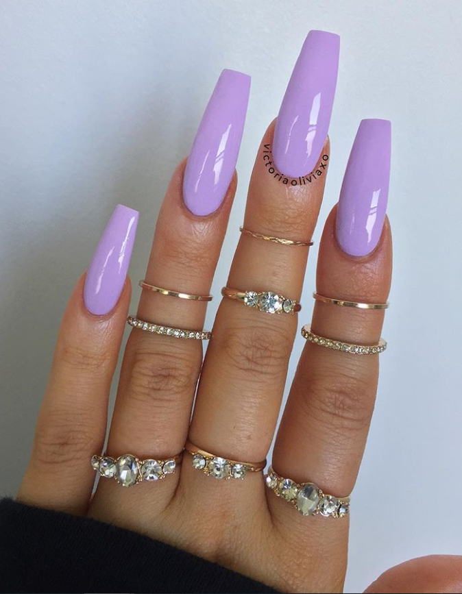 80+ Elegant Nude Coffin Nails Design For Long Nails That Anyone Can Pull Off – Latest Fashion Trends For Woman – Coffin & Stiletto Nails Design