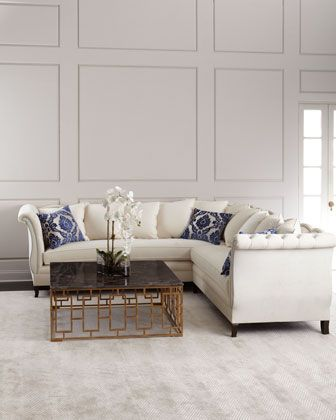 Haute House Gigi Sectional Sofa Sectional Sofa Sofa Design