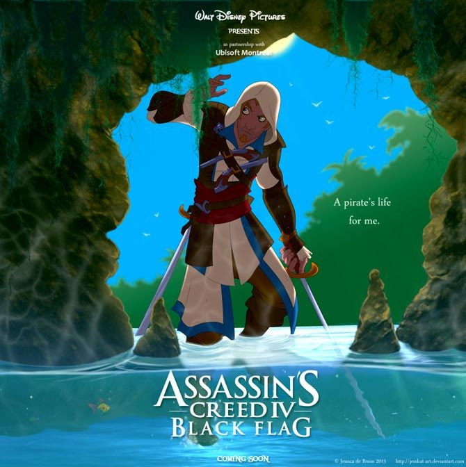 Assasin cred 4 black flag la pelicula de walt disney confirmado