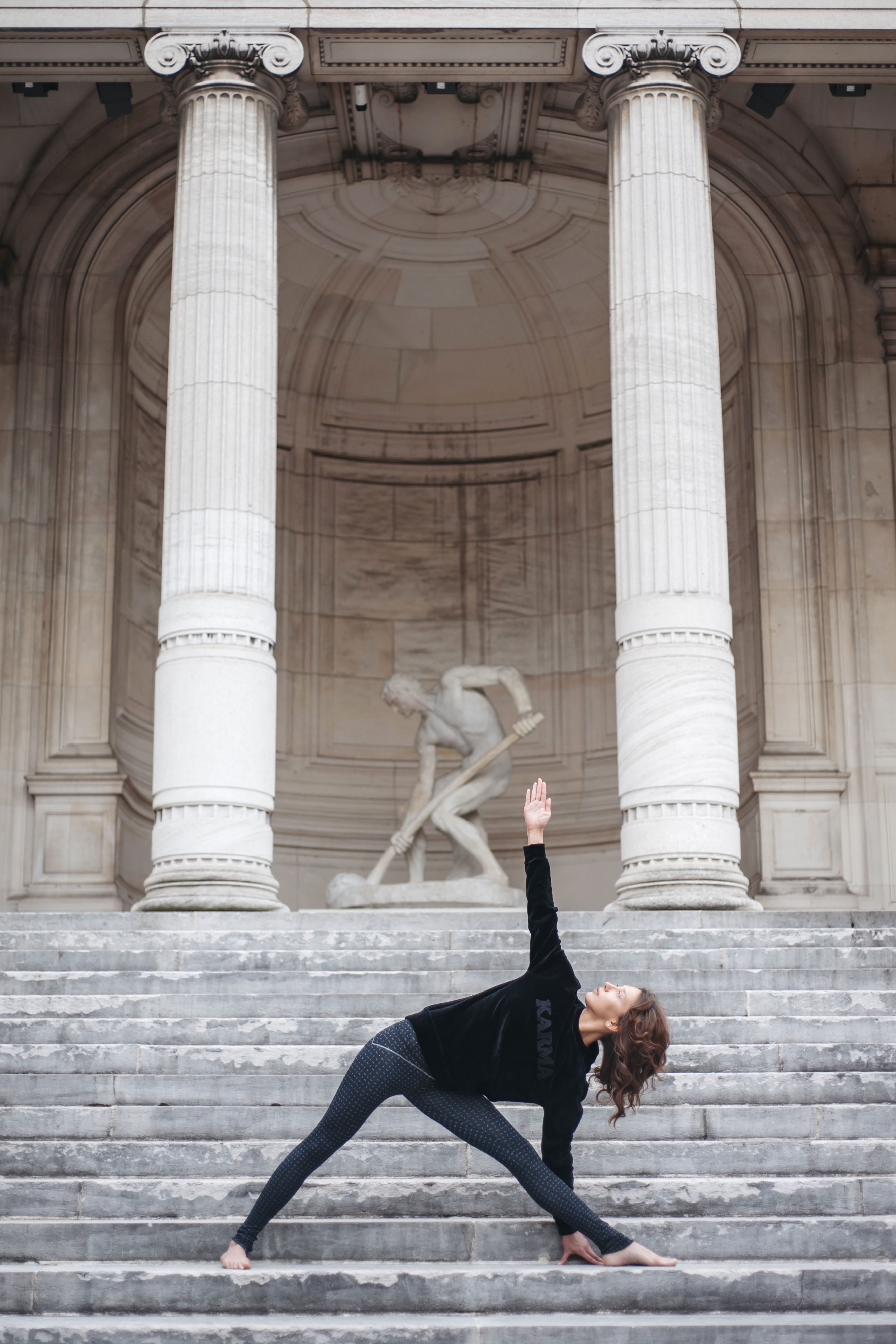 Sweat KarmaAw1819 De NoirVelours Velvet Velours Yoga XTlwPikZuO