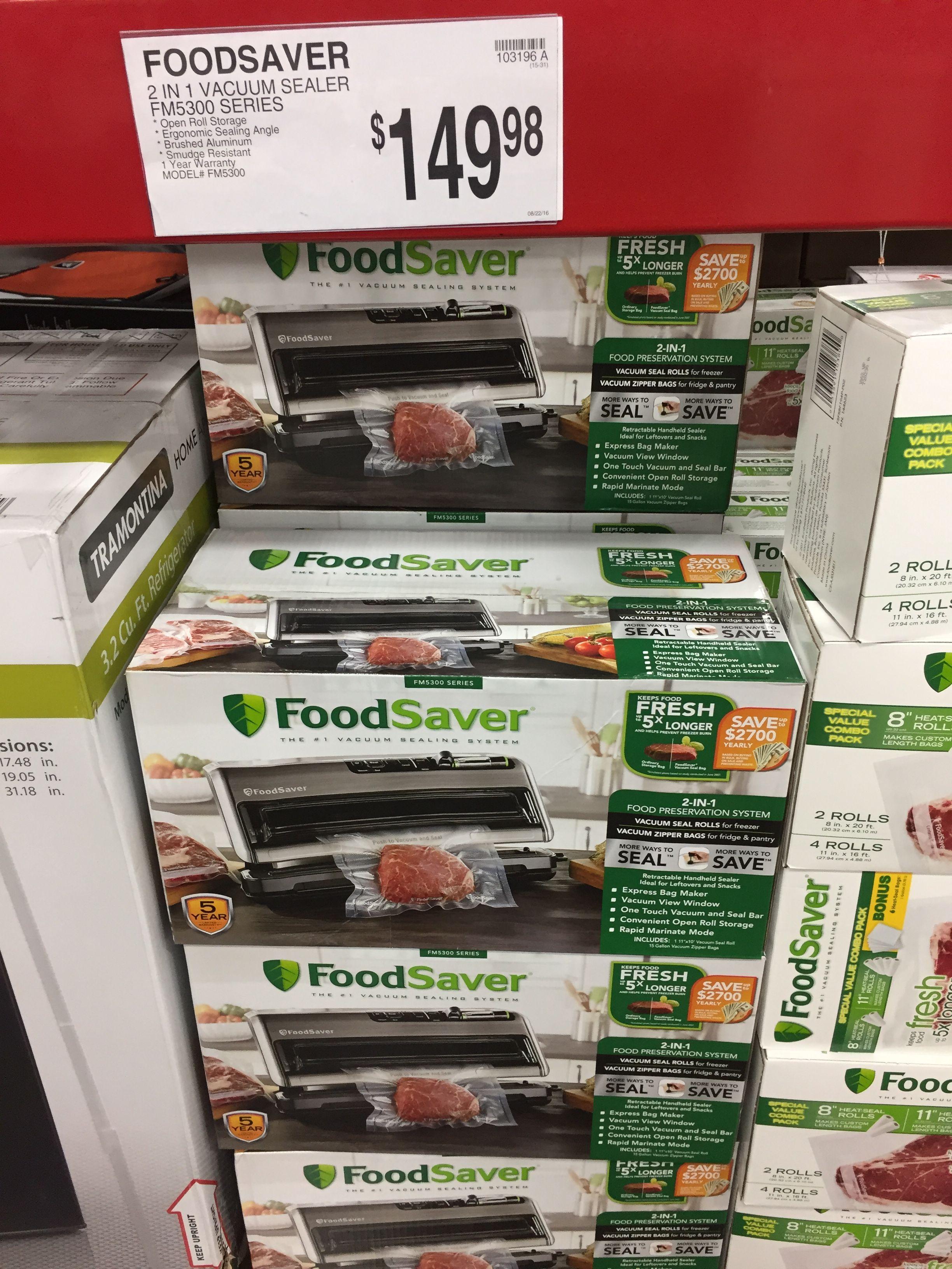 Food saver sams food saver food vacuum sealer