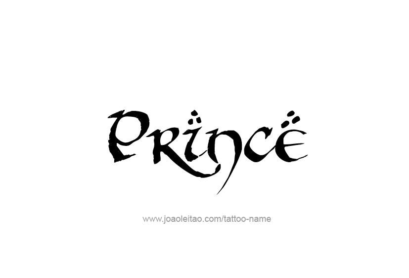 Prince Name Tattoo Designs Prince Tattoos Name Tattoo Name Tattoo Designs