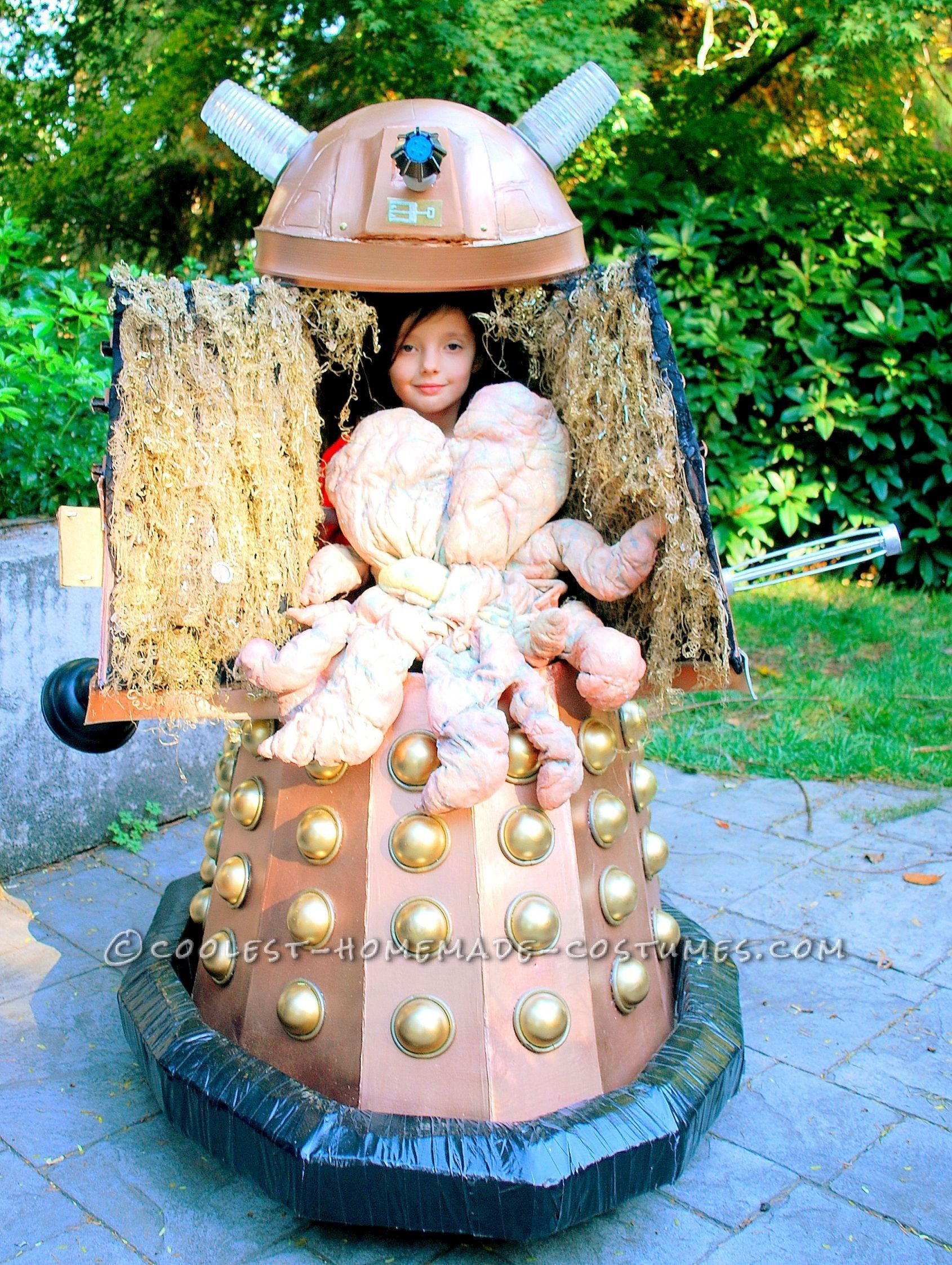 coolest homemade doctor who dalek caan costume | coolest homemade