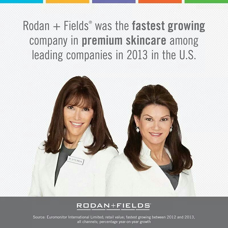 No big deal. Just THE FASTEST GROWING among leading companies in 2013 in the U.S. (including Clinique, Estee Lauder and Lancome) Can the brand you're using now say that? What about the company you're working for?  Numbers tell a pretty great story! www.TaraCampbell.myrandf.biz