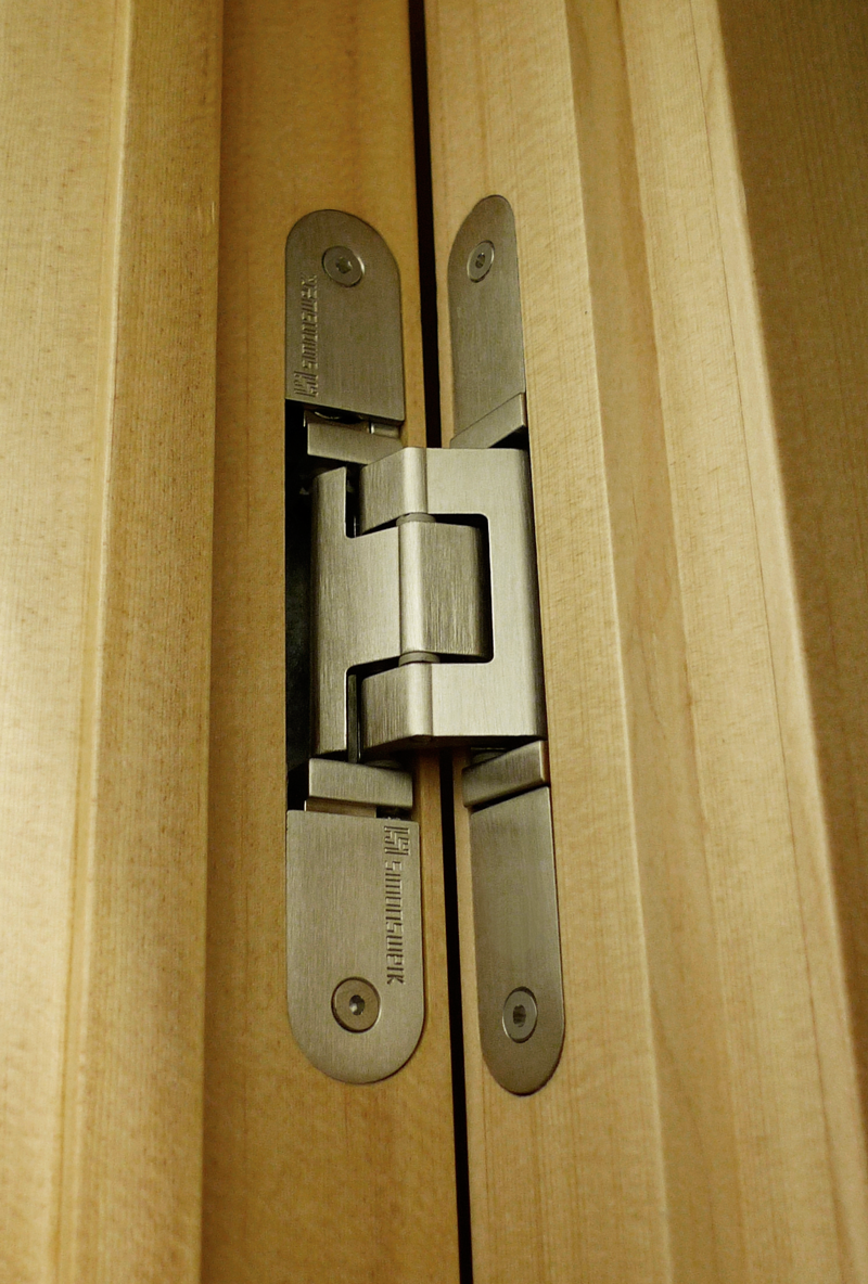 Tectus 3d concealed hinges come in a choice of ten for Concealed door hinges