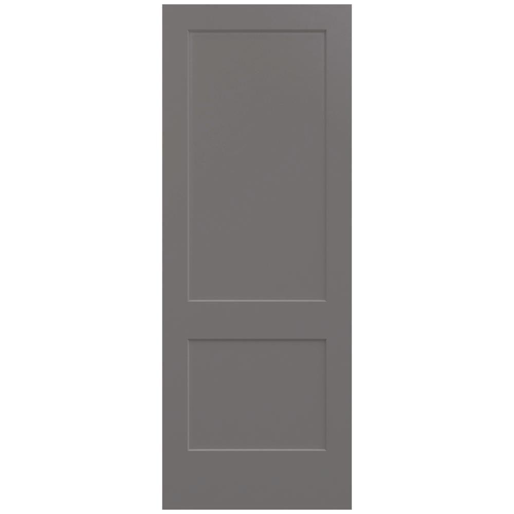 jeld wen 36 in x 96 in weathered painted on 36 In X 96 In Composite White Interior Bi Fold Door id=68855