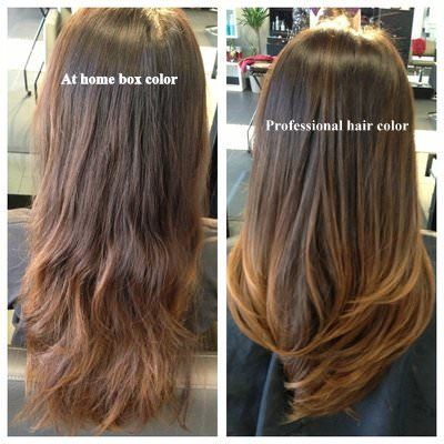 Professional Hair Coloring Vs Store Bought Hair Color The Drawing Room New York Box Hair Dye Professional Hair Color Boxed Hair Color