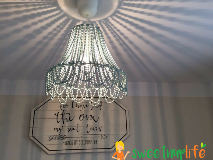 Lampshade Store Near Me Brilliant Learn How To Make A Beaded Ceiling Light For Under $25 Dollarsthe Design Inspiration