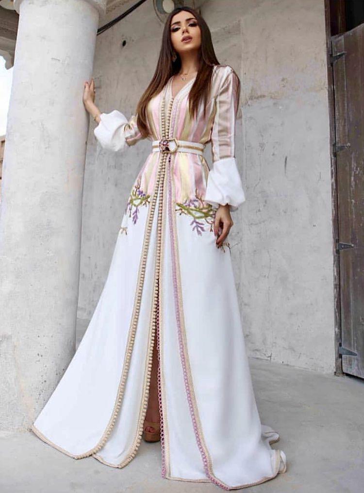 Wedding Moroccan Abaya Takchita Gown Caftan Kaftan handmade Middle East Moroccan