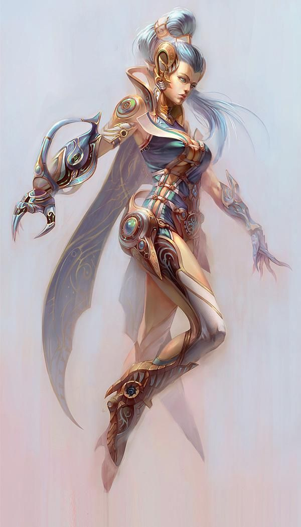 Avatar Characters by Yu Cheng Hong