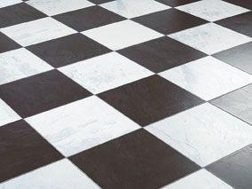 Nieuw Faus laminaat tegels Chess Black 621989 zwart wit geblokte vloer RE-37