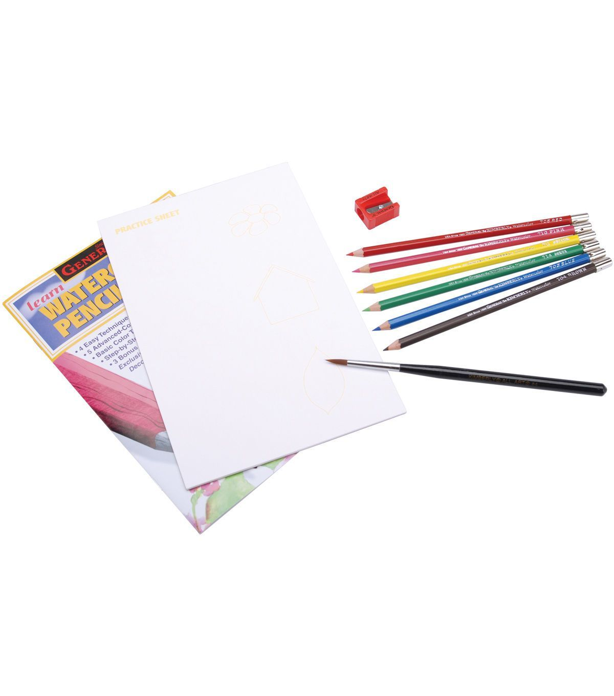 Learn Watercolor Pencil Techniques Now Kit Watercolor Pencils