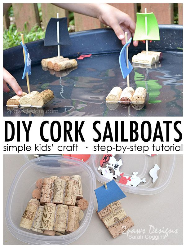 Photo of DIY Cork Sailboats