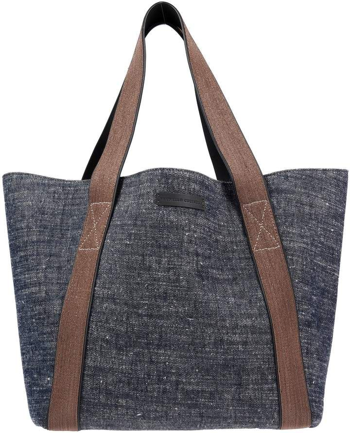 c398590d1 ShopStyle Collective. ShopStyle Collective Brunello Cucinelli, Soft Leather,  Shopping Bag ...