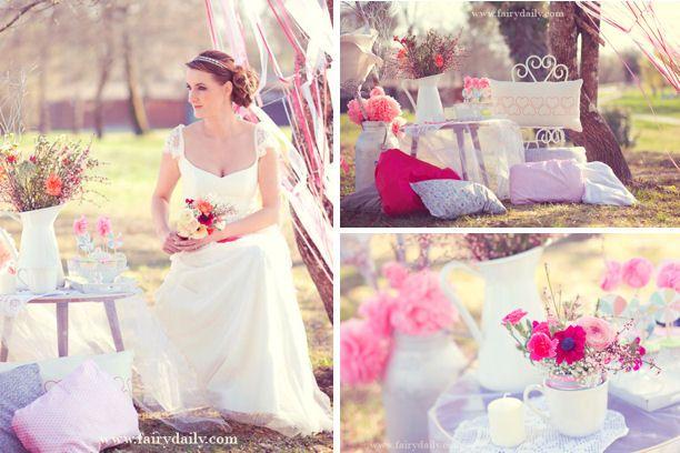Une décoration romantique et vintage pour votre mariage