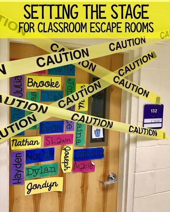 Mission Math: Classroom Escape Room | Escape the classroom ...