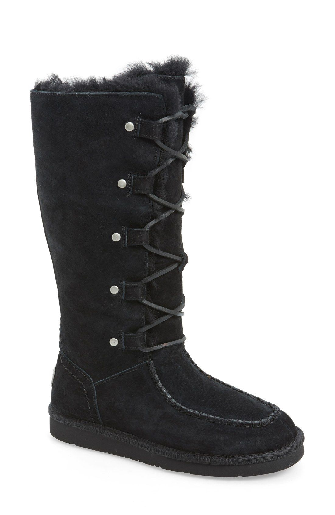 f3b7400c19f UGG® Australia  Appalachian  Water-Resistant Lace-Up Tall Boot (Women) (Wide  Calf)