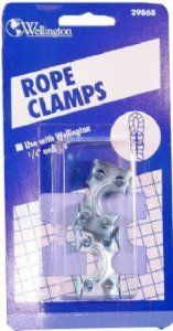 Wellington Cordage 7040 6 1 4 3 8 Rope Clamp By Wellington 3 15 From The Manufacturer Wellington S Rope Cl Home Hardware Rope Clamp Hardware