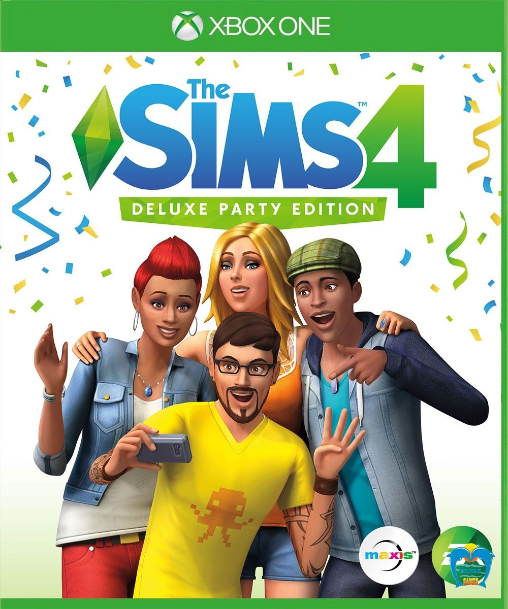 The Sims 4 Deluxe Party Edition Sims 4, Sims 4 ps4, Sims