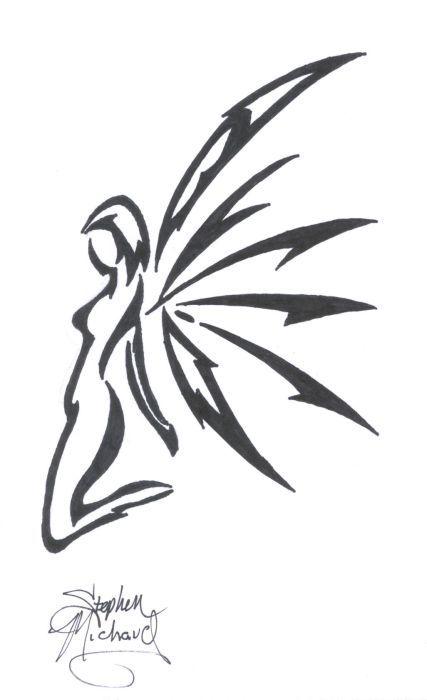 Art Tribal Fairy Tattoo Designs 3...my girl would like