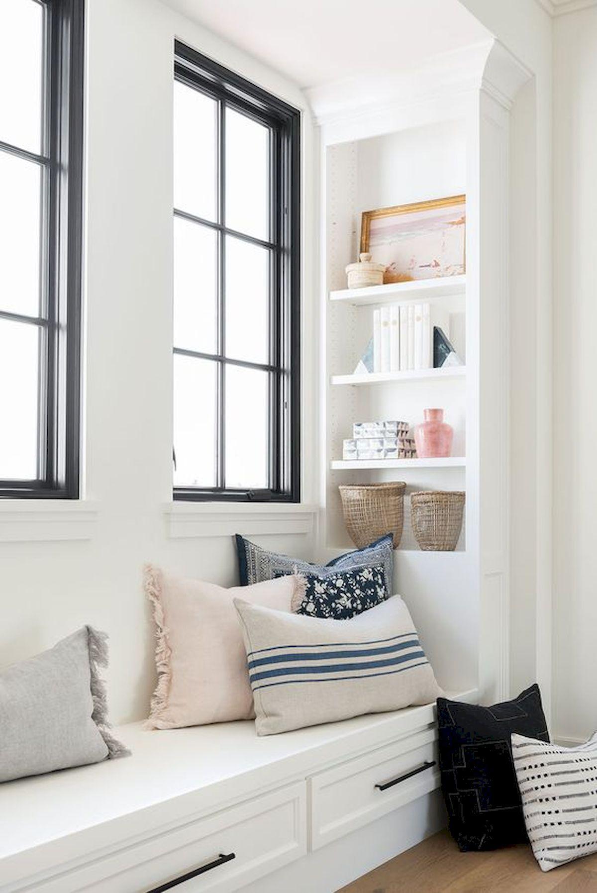 Best window seat design ideas also interior images in rh pinterest