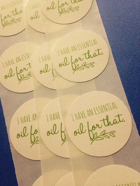 I have an essential oil for that https www etsy com listing 222420327 essential oil business stickers stickers