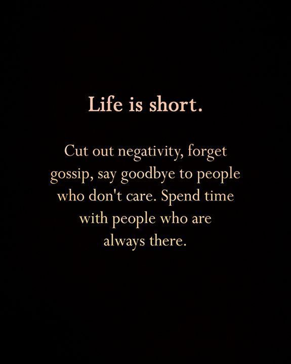 Inspirational Positive Quotes :Life is short..