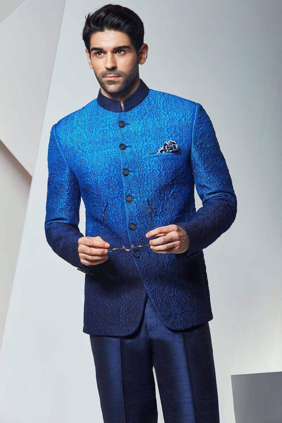 Designer Jodhpuri Suit Jodhpuri Suit For Wedding Mens Wedding Suit
