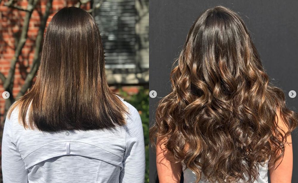 Hair Extensions By Adored Salon Curly Hair Salon Hair Extensions Best Hair Styles