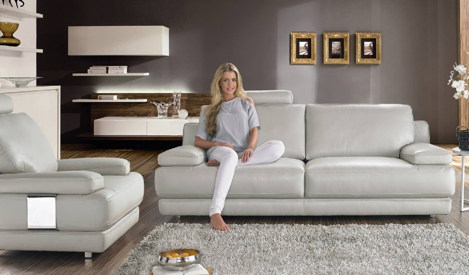 Paloma Sofa Sofology Simmons Flannel Charcoal Barcetto Home Ideas Leather Living Room