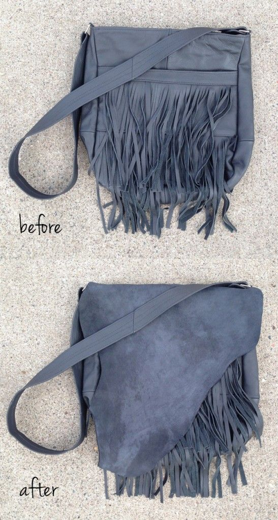 DIY-plus Fringed Handbag - how I upgraded an inexpensive fringe bag!