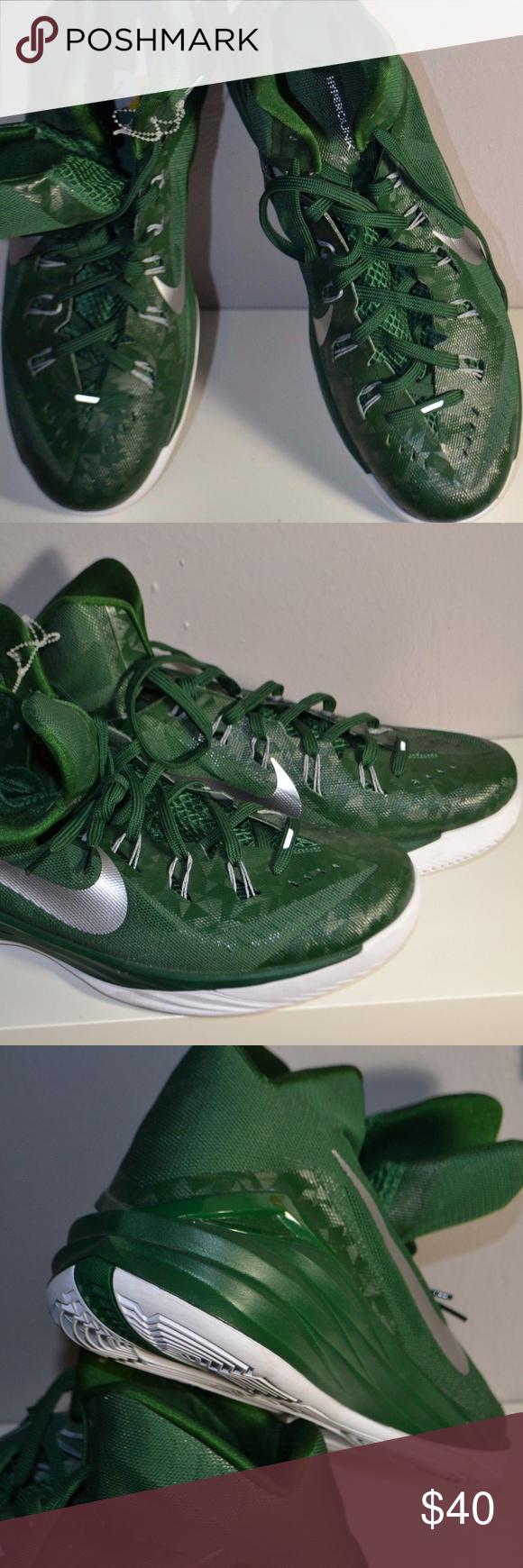 timeless design 5979c 2166d Nike Hyperdunk Lunarlon Basketball Kobe Sneakers NEW Nike Hyperdunk  Lunarlon Green Silver Basketball Kobe Sneakers Shoes Sz 17.5 685777-301  Nike Shoes ...