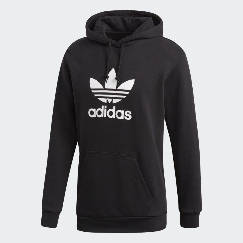 adidas Originals Trefoil Sweatshirt für Herren Schwarz