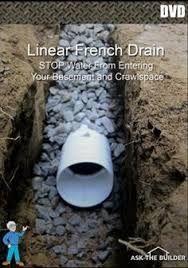 نتيجة بحث الصور عن Roof Drip Line Trench In Sandy Soil Yard Drainage French Drain Drainage Solutions