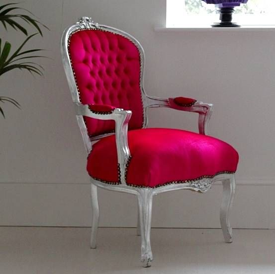 Hot Pink Armchair By Out There Interiors   Notonthehighstreet.com