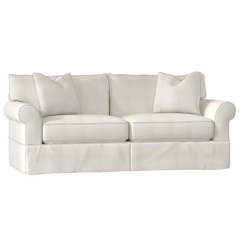 Wayfair Custom Upholstery Veana Sofa Sofa White Sofas Classic